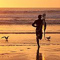 Running To Surf by Nathan Rupert