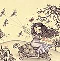 Running To The Spring by Snezana Kragulj