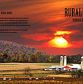 Rural Barns  My Book Cover by Randall Branham
