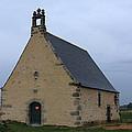 Rural Church In Brittany by Aidan Moran