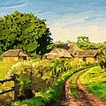 Rural Home by Anthony Mwangi