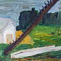 Rural Landscape by Simonas Pazemeckas