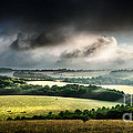 Rural Landscape Stormy Daybreak by Simon Bratt Photography LRPS