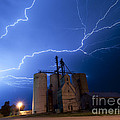 Rural Lightning Storm by Art Whitton
