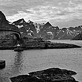Rural Norwegian Spring Fjordland by David Broome