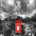 Rural Post Box by Mal Bray