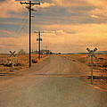Rural Railroad Crossing by Jill Battaglia