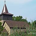 Rural Roadside Church by Ann Horn