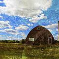 Rural Wi Barn W Texture by Anita Burgermeister