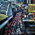 Rush Hour Manila Philippines by Ron Roberts