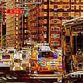 Rush Hour - Traffic In New York by Miriam Danar