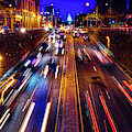 Rush Hour Traffic On North Capitol Show by Panoramic Images