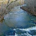 Rushing Vickery Creek by Denise Mazzocco