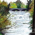 Rushing Water - Quiet Thoughts by Barbara Jewell