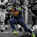 Russell Wilson by Marvin Blaine
