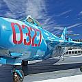 Russian Aircraft Mig At Interpid Museum by Jaroslav Frank