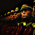 Russian Honor Guard - Featured In Men At Work Group by Ericamaxine Price
