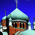 Russian Orthodox Church by Karol Livote