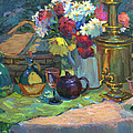 Russian Picnic Still Life by Diane McClary