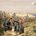 Russian Rifle Pit , Plate From The Seat by William 'Crimea' Simpson