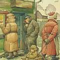 Russian Scene 07 by Kestutis Kasparavicius
