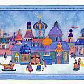 Russian Snowfall Fantasy by Heidi White