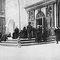 Russians Pray For Wwi Victory by Underwood Archives