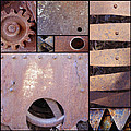 Rust And Metal Abstract  by Ann Powell