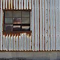 Rust And Window 1 by Anita Burgermeister