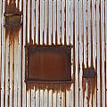 Rust And Window 3 by Anita Burgermeister
