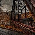 Rusted Bridge by David B Kawchak Custom Classic Photography