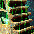 Rusted Gears Abstract by Carol Groenen