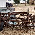 Rusted Hay Rake by Jay Ressler