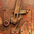 Rusted Latch by Jim Hughes