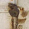 Rusted Lock by Margie Hurwich