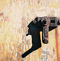 Rusted Metal Abstraction by Ann Powell