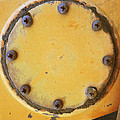 Rusted Metal Orange by Ann Powell