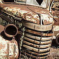 Rusted Pickup  by Rob Hawkins