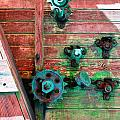 Rusted Valves by Holly Blunkall