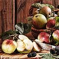 Rustic Apples by Amanda Elwell