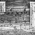 Rustic Old Colorado Barn Door And Window Bw by James BO  Insogna