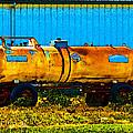 Rustic Tank Art by Debbie Portwood