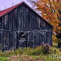 Rustic Vermont Barn by John Vose
