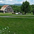 Rustic Vermont Barn by Susan Wyman