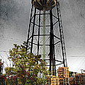 Rustic Water Tower by Brian Wallace