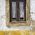 Rustic Window Of Medieval Obidos by David Letts