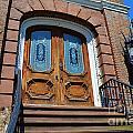 Rustic Wood Charleston Door by Amy Lucid