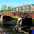 Rusting Bridge by Brett Beaver