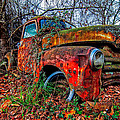 Rusty 1950 Chevrolet by Andy Crawford
