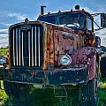 Rusty Autocar by Georgette Grossman